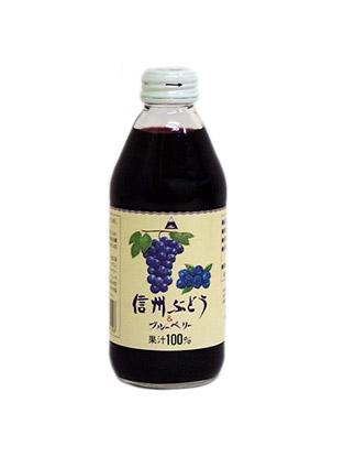 信州ぶどう&ブルーベリー 250ml(24本入り)