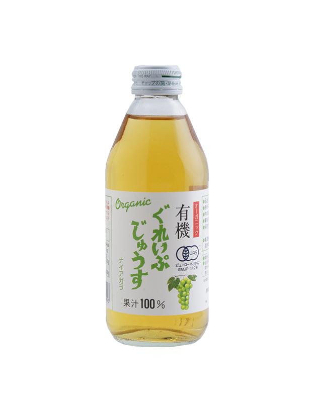オーガニックぐれいぷじゅうすナイアガラ 250ml(24本入り)