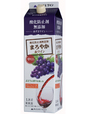 あずさワインまろやか赤ワイン紙パック1.8L(6本入り)