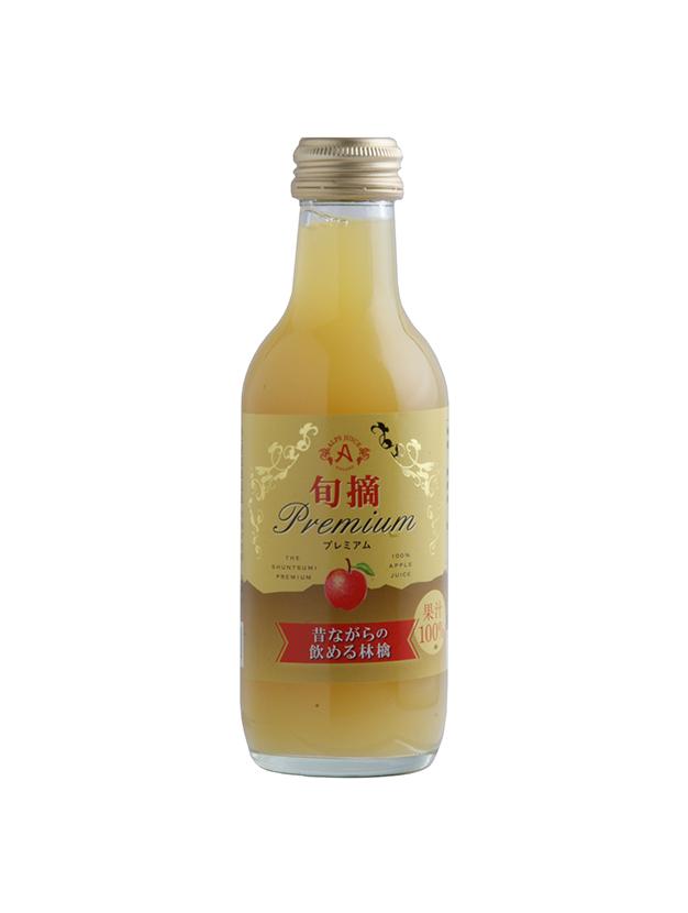 昔ながらの飲める林檎200ml(24本入り)
