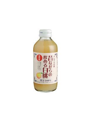 アルプスの里 昔ながらの飲める白桃180ml(24本入り)