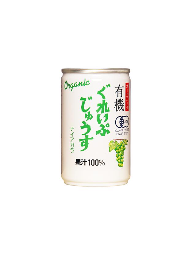 オーガニックぐれいぷじゅうすナイアガラ 160g(16本入り)